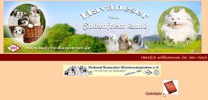 Eine Homepage informiert über Arbeit und Tiere des Züchters.