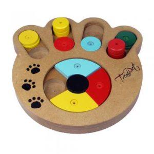 Anspruchsvolles Spiel für schlaue Hunde